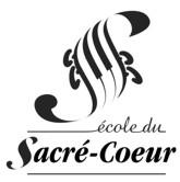 Site Internet officiel de l'école du Sacré-Coeur