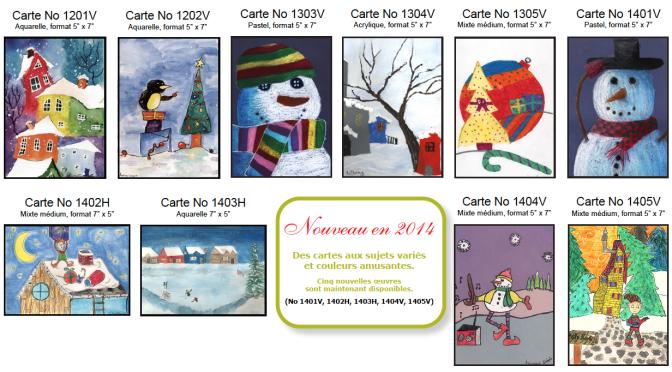 Campagne de cartes de voeux 2014